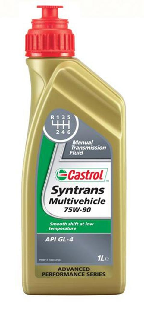 Масло трансм CASTROL Syntrans Multi-Vehicle 75W-90 (1л)