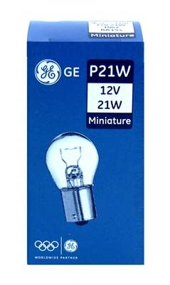 Лампочка P21W GE  Reliable  range 12V 21W