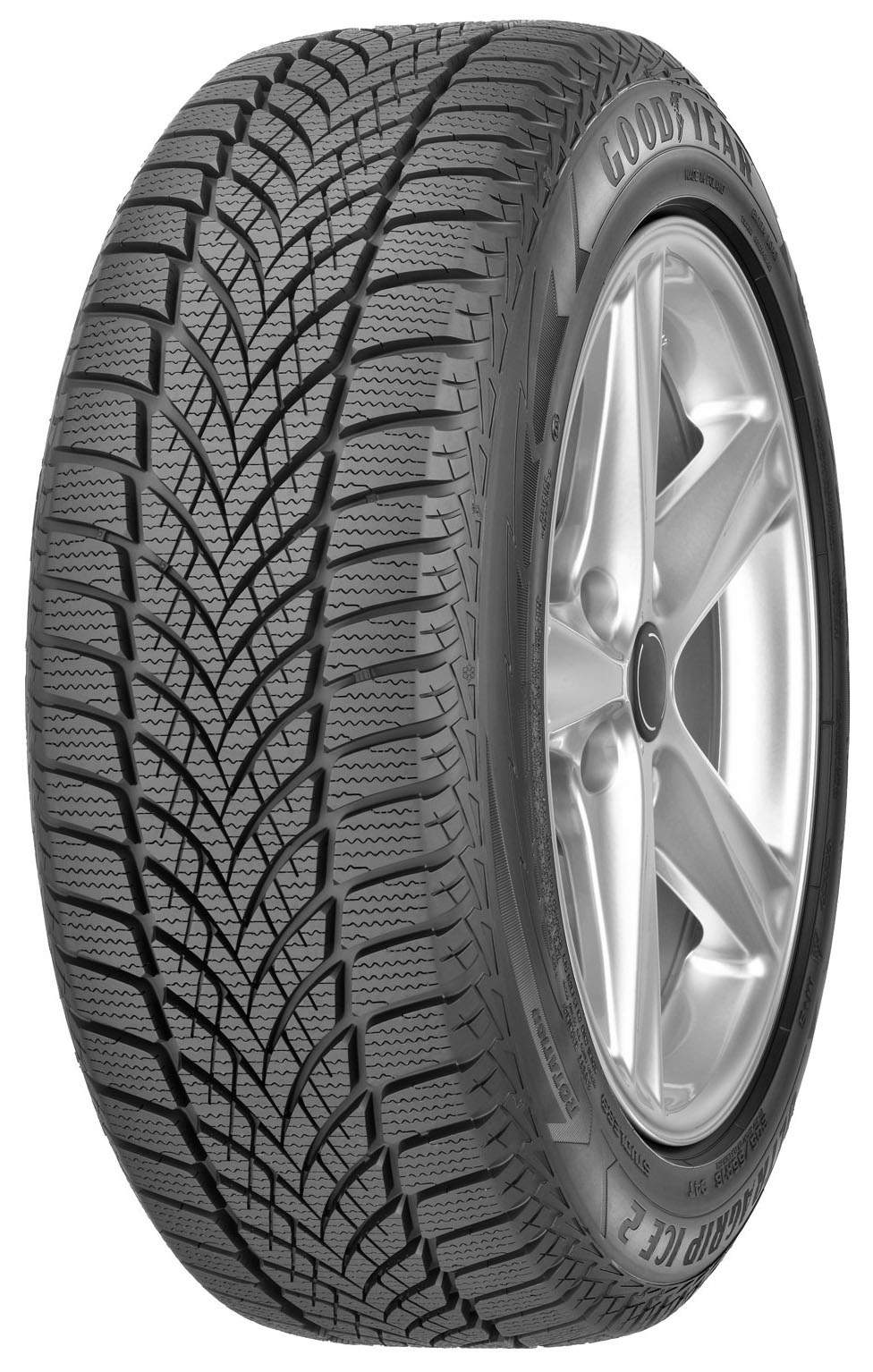 Автошина R16 195/55 Goodyear UltraGrip Ice 2 87T (зима)