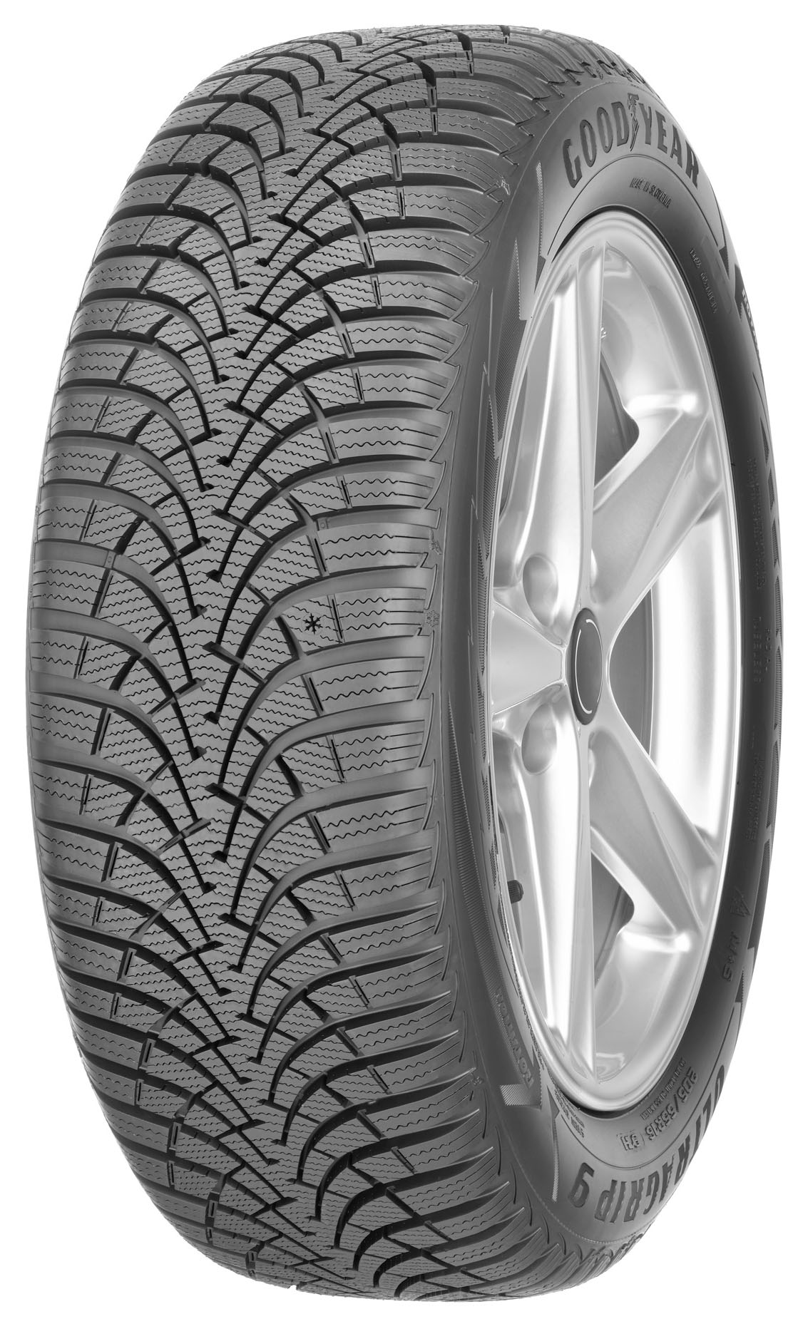 Автошина R16 195/60 Goodyear UltraGrip 9 93H (зима)