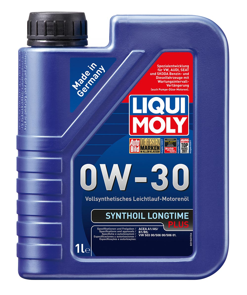 LiquiMoly 0W30 Synthoil Longtime Plus (1L) масло моторсинACEA A1B1
