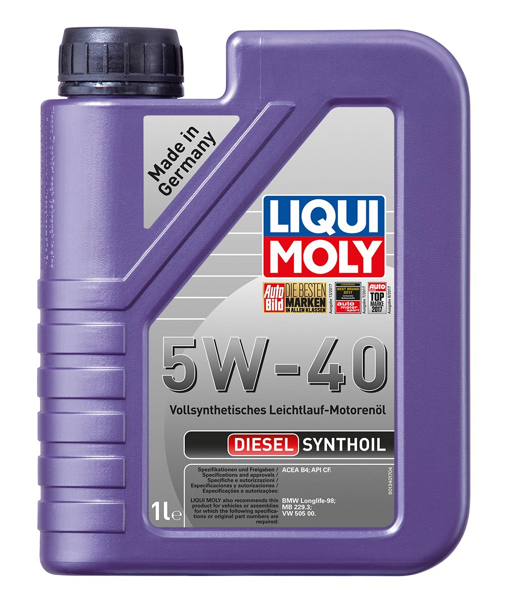 Масло моторное LIQUI MOLY Diesel Synthoil 5W-40 (1л)
