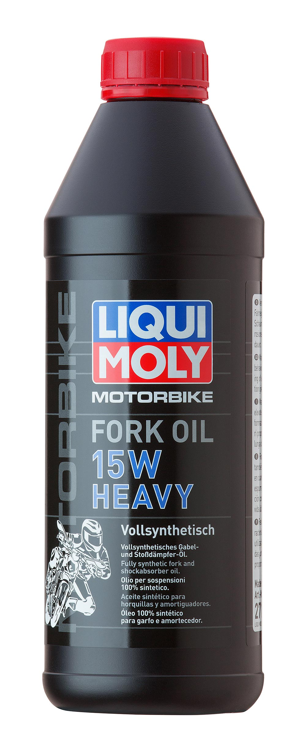 LIQUIMOLY СИНТ.МАСЛО Д/ВИЛОК И АМОРТИЗ. MOTORBIKE FORK OIL HEAVY