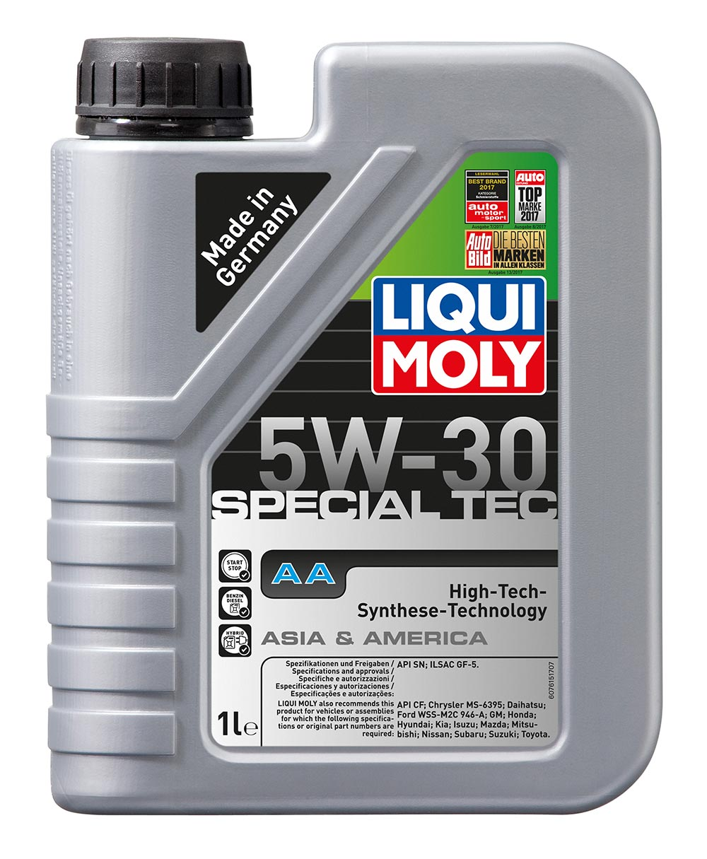 Масло моторное LIQUI MOLY Leichtlauf Special Tec AA 5W-30 (1л)