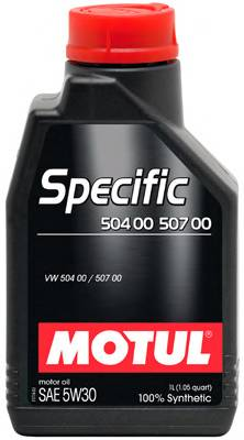 Моторное масло MOTUL Specific 504.00 507.00 SAE 5W-30 (1л)