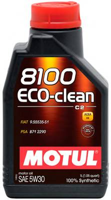 Масло моторное Motul 8100 Eco-clean 5W-30  (1л)