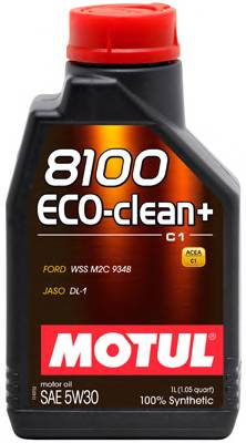 Масло моторное Motul 8100 ECO CLEAN PLUS 5W30  1л