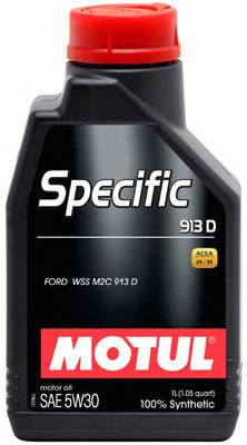 моторное масло MOTUL  Specific 913D  5w30  FORD WSS M2C 913 A. 913 B. 913 C  12*